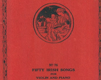 Home Circle Music Series Fifty Irish Songs In First Position | VIOLIN AND PIANO | No. 76