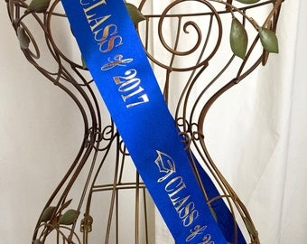 """Class of 2017 - 2.5"""" wide Sash"""