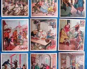 Lot of 9 Sammelwerk German Life Through 5 Centuries