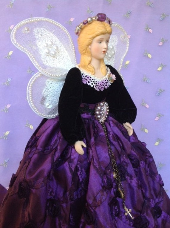 Lovely Handmade Victorian Angel Collectible Doll