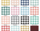 Buffalo Plaid Large in Various Colors, Custom Crib Baby Bedding