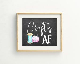 Craft Room Decor, Craft Room Wall Art, Craft Room Prints