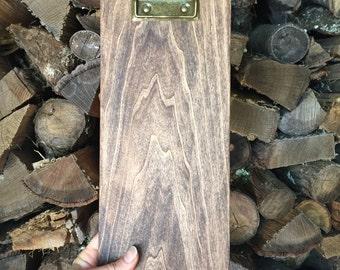 Solid Wood Clipboard