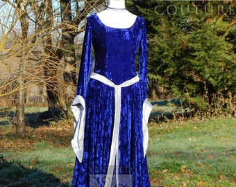 Viking dress Woodland Wedding Celtic Pagan Handfasting Small-XLrg