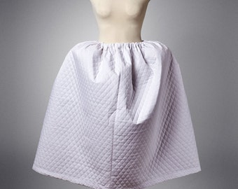 Colonial Georgian Quilted Petticoat Upon Request