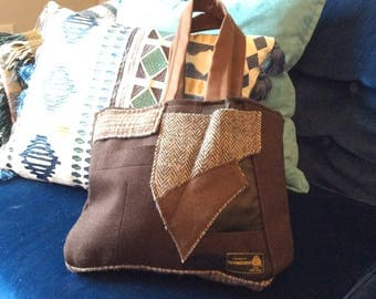 Tweed Travel Bag