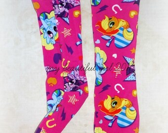 Pony Friends Toddler Knee High Socks - Size 4, INSTOCK