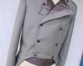 Bespoke Wool and Silk Tailcoats