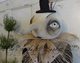 EPATTERN - Moon Harvest primitive folk art halloween doll epattern