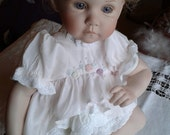 Vintage Porcelain Doll - Crying Baby Doll