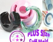 PLUS SIZE Cuff Mold Chunky Bangle Bracelet Mold