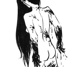 Inktober 2016 No 18 - 5.5 x 7.5 Ink Drawing