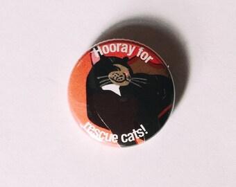 Rescue Cat Magnet