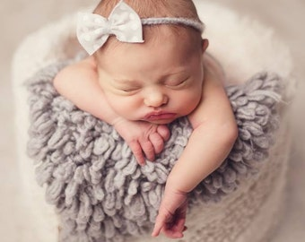 Newborn tieback with bow.13 bows to choose from, newborn props, newborn girl headband, newborn girl, newborn headband, newborn flower band