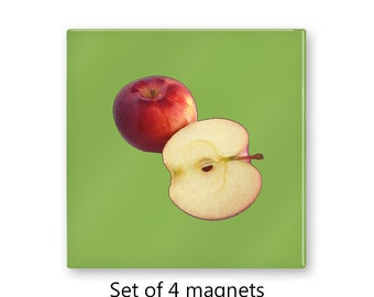 Apples Magnet Set, set of 4