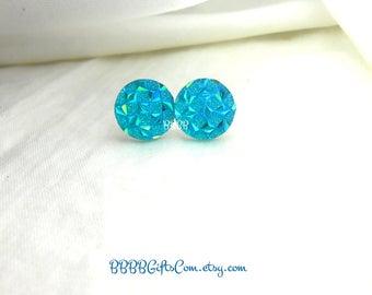 Teal Green Earrings