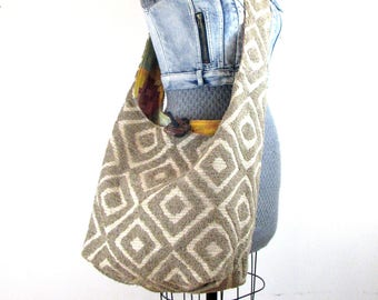 Large Crossbody Bag - Vegan Bag - Hobo Shoulder Bag - Crossbody Hobo Bag - Women's Crossbody Bag - Slouch Bag - Hobo Bag - Bohemian Bag