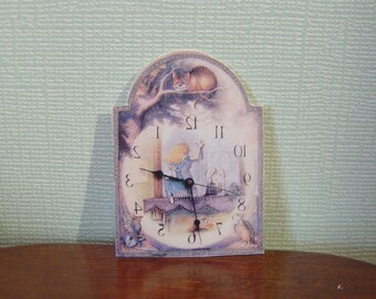 Miniature Dollhouse Clock One Inch Scale 1:12