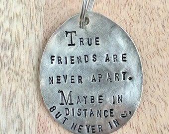 True Friends Key Chain