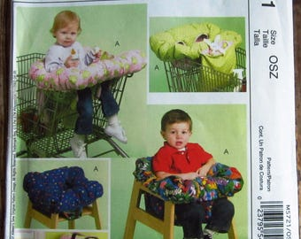 3 in 1 Shopping Cart and High Chair Cover McCalls Crafts Pattern M5721 UNCUT