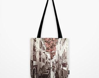 TOTE BAG fiori di Venezia