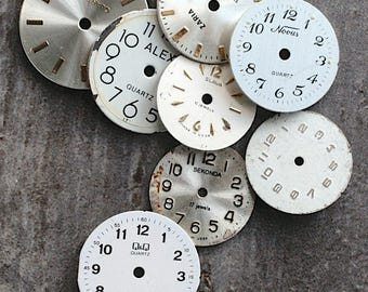 Small Watch Faces -- set of 8 -- D11
