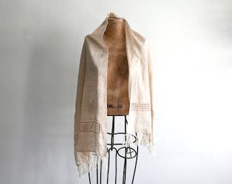 Woven Cotton Gauze Scarf