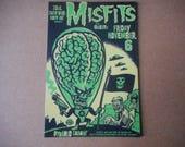 Magnet Misfits Concert Poster Pyramid Cabaret  Guests Rock