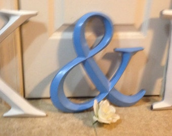 Wall Decor, Large Letter Decor, Wedding Decor, PICK YOur LETtEr and YouR COLor - A-Z