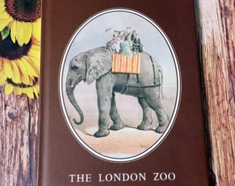The London Zoo by Sally Holloway HB Illustrated 1976