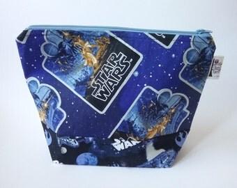 Knitting/spinning/crochet/crafting project bag Star Wars