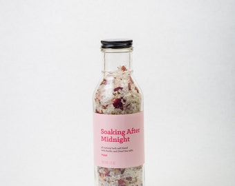 Soaking After Midnight--Rose Bath Salts