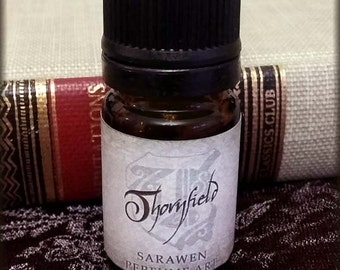 THORNFIELD Jane Eyre Victorian Perfume Oil / Woods Lavender scent / Vegan Perfume / Victorian Perfume oil