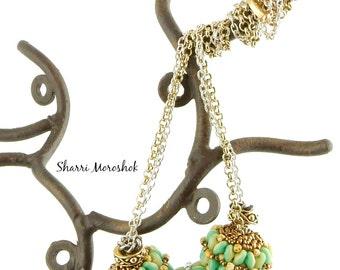 Beaded Necklace - beaded beads by Sharri Moroshok