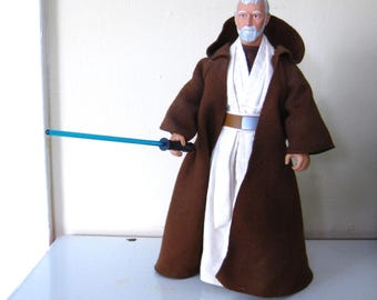 Vintage Obi-Wan Kenobi Doll / Star Wars / Collectible / 12 Inch / 1992