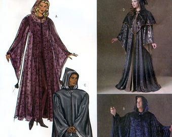 Butterick 4050 Sewing Pattern for Unisex Adult Robes - Uncut - Size XS, S, M