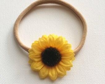 Yellow mum headband