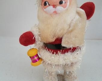 Vintage Spun Cotton Head Santa Claus - Japan