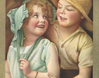 Miss Coquette Beatrice Tonneson Calendar Art Print
