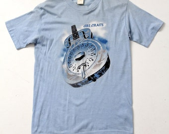 Dire Straits 1985 Brother in Arms t-shirt, vintage concert tee large