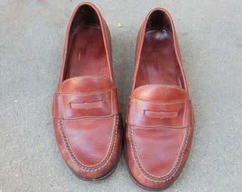 Vintage Mens 13 Cole Haan Country Slip On Penny Loafers Classic Dress Wedding Suit ShoesBoat Deck Shoes Hipster Spring Summer Fashion Beach