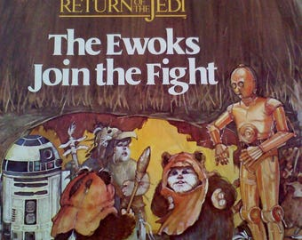 Star Wars Return of the Jedi Book, The Ewoks Join the Fight