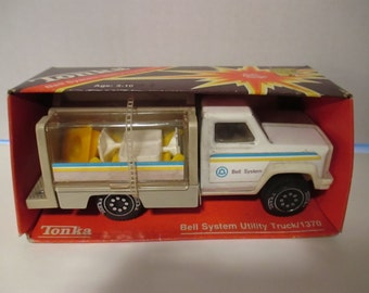 Tonka 1370 Bell System Uitility Truck Vintage Toy Trucks Never Used Collectible Toys YourFineHouse SHIPSWORLDWIDE