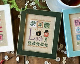 Basket Celebrate Includes charm cross stitch pattern by Lizzie*Kate at thecottageneedle.com Easter Nashville