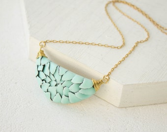 Blue Dragon Scales Watercolor Snake Skin Pendant Wholesale Metal Handmade Pendant Medallion Accessory Jewelry Wedding Bridal Valentine