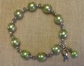 114 Lymphoma Cancer Awareness Bracelet