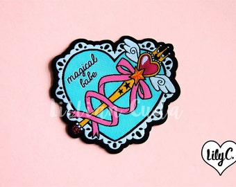 Magical Babe Wand Patch