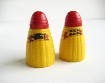 Souvenir Salt and Pepper Shakers Atlantic City Corn Cobs