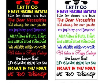 We Do Disney - Subway Art - Digital cutting file - INSTANT DOWNLOAD - svg, Silhouette studio, png & pdf formats