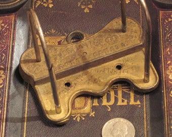 Antique Victorian Clipboard Accessory